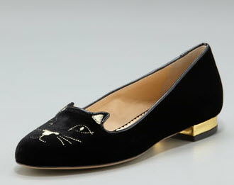 Charlotte Olympia Flat Shoes