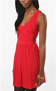 Cooperative Silky Cutout Dress