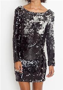 Cruel Mirage Sequin Dress