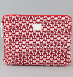 DVF heart iPad case