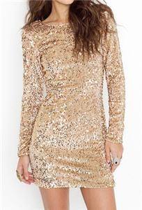 Gabby Sequin Dress