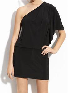 JS Boutique One Shoulder Jersey Dress