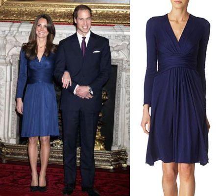 Issa Dress on Kate Middleton Navy Blue Issa Sash Dress