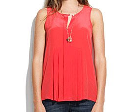 Madewell coral tank