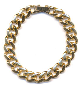 Maya Brenner chunky chain necklace