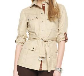 Michael Kors safari jacket