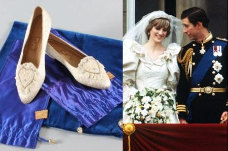 Princess Diana Wedding Dress | Diana Wedding Shoes | Royal ...