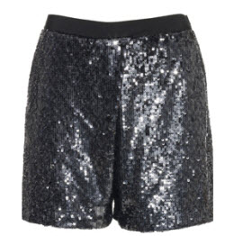 Reiss Katiya sequin shorts