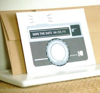 Scratch Off Camera Save The Dates
