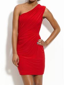 Soprano One Shoulder Draped Dress