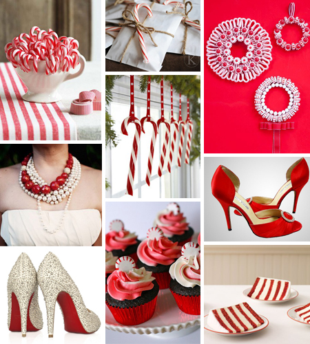 This Red And White Themed Wedding Is Sweet As Candy Happyholidays