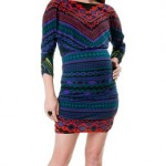 hale-bob-34-sleeve-ruched-maternity-dress-