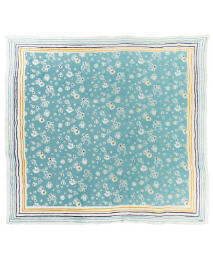 Blue floral scarf ($19.99)