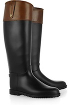 Equestrian Rain Boots | Hunter Riding Rain Boot | Burbery Wellington