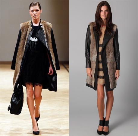 Malene Birger Coat | Fur Leather Coats | By Malene Birger