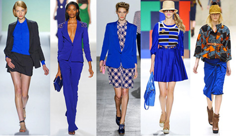 Listen Up, Middle Children: Cobalt Blue Is The Easiest Way To Get Attention  This Spring
