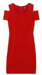 DKNY Cut Out Stretch Dress