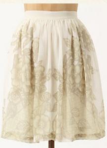 Dried Larkspur Skirt