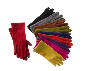Echo Wool Blend Tech Touch Gloves