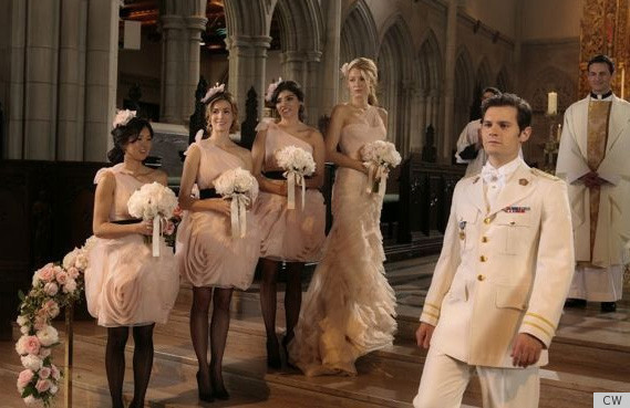 Blair waldorf white brunch dress
