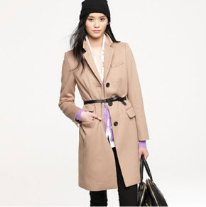 J.Crew Plaza coat with Thinsulate
