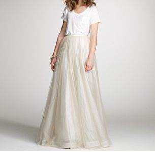Layered Tulle Paget Skirt