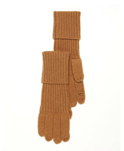 MICHAEL Michael Kors Jersey-Stitch Texting Gloves