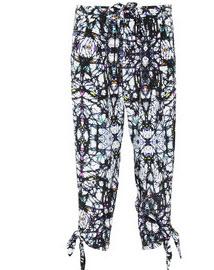 Mara Hoffman silk georgette cropped pants