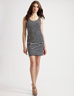 Michael Michael Kors striped dress