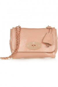 Mulberry Lily Patent-Leather Shoulder Bag