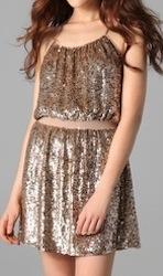 Parker Sequined Camisole Dress
