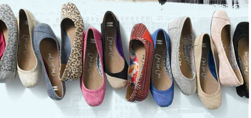 f613cd9f4 TOMS ballet flats are here! We just stayed up way past our bedtime to grab  you these images of the latest TOMS styles, which just launched at the  stroke of ...