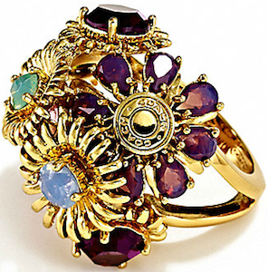 New Bouquet Flower Ring