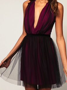 Party Dress in Mesh