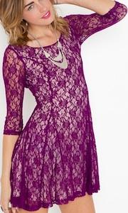 Iris Lace Dress