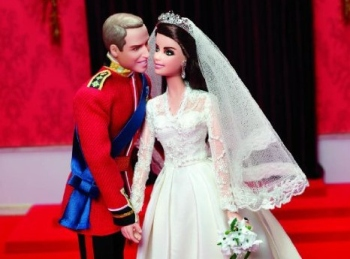 Barbie Royal Wedding William Catherine Dolls