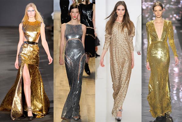 Metallic Dresses