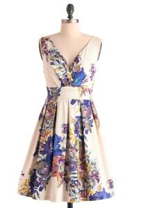 Floral Palate Dress