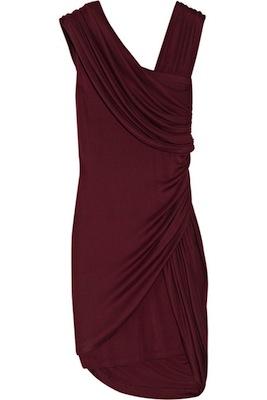 Foley + Corinna Ruched Silk-Jersey Dress