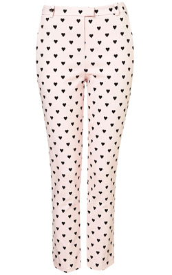 HEART FLOCK TROUSERS