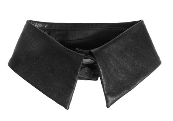 Karl Faux Leather Collar