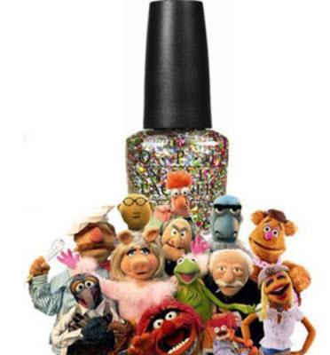 Muppets for OPI Nail Polish