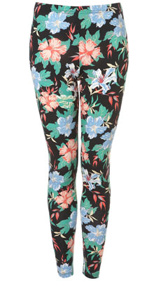 Petite Tropical Floral Legging