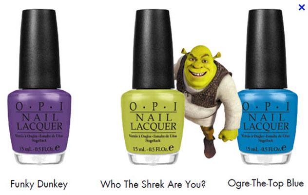 Shrek for OPI