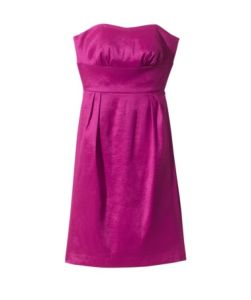 Strapless Sweetheart Sateen Dress