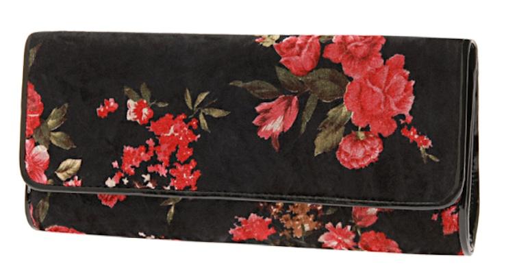 ZEHE Floral Clutch