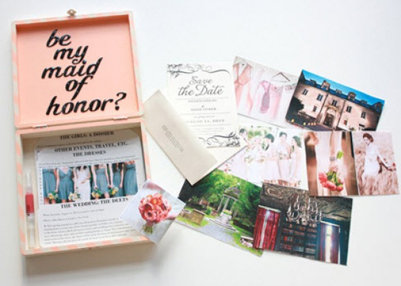 Will You Be My Bridesmaid Box | DIY Wedding Ideas