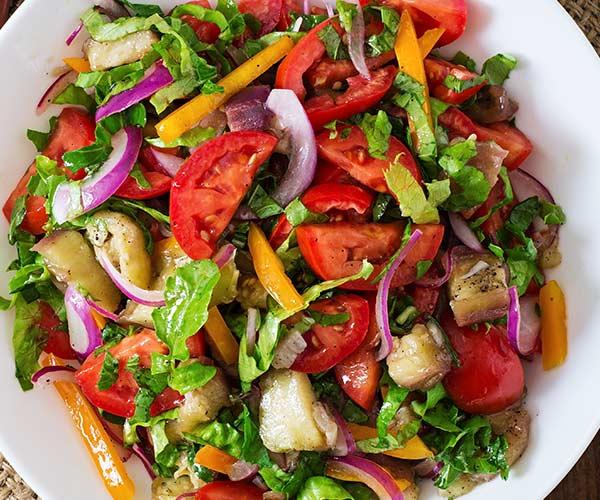 Add quinoa to salad for a fiber boost