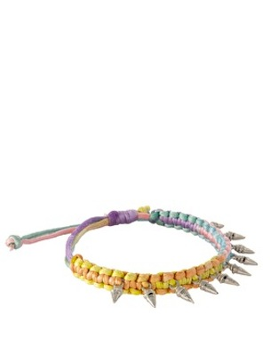 ASOS Pastel Rainbow Friendship Bracelet