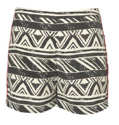 Aztec Flat Front Shorts